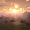 Zachód słońca nad sawanną :)