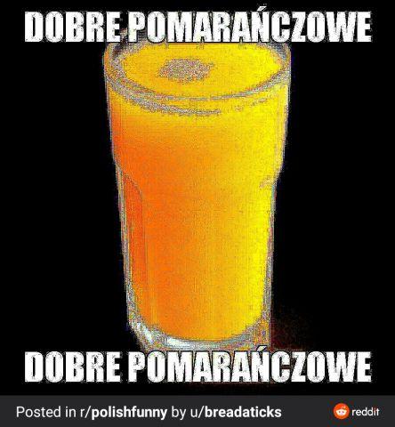 Dobre pomarańczowe