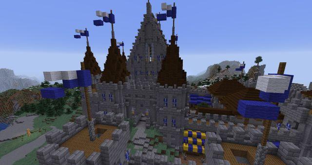 Zamek Starego Króla (wersja przed zniszczeniem przez Czarną Hordę)