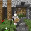 Strażnik, pilnujący wejścia do wioski.